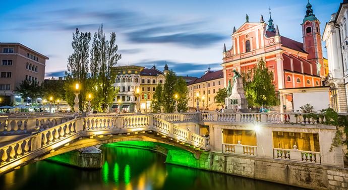 Słowenia - Lublana