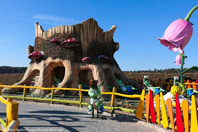 Bajkowe miejsca dla dzieci - Majaland