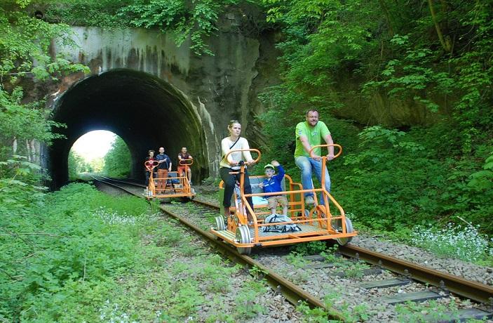 Drezyny Rowerowe - Bieszczady