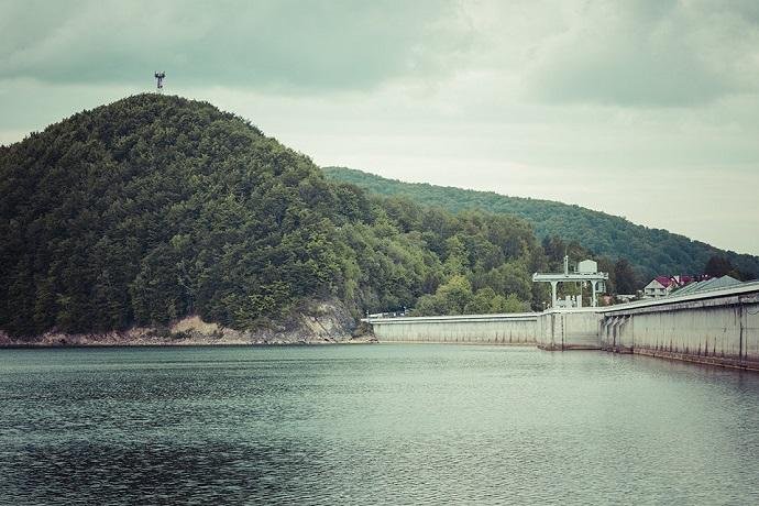 Jezioro Solińskie - Bieszczady