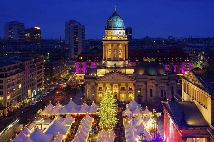 Najpiękniejsze jarmarki świąteczne - Berlin