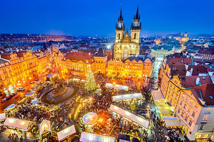 Najpiękniejsze jarmarki świąteczne - Praga