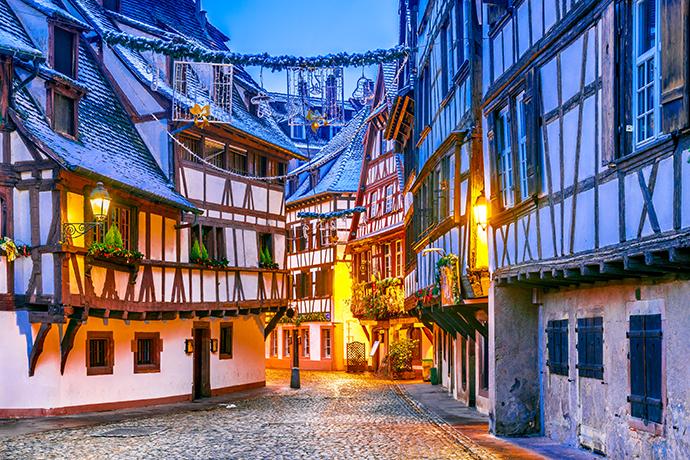 Najpiękniejsze jarmarki świąteczne - Strasburg