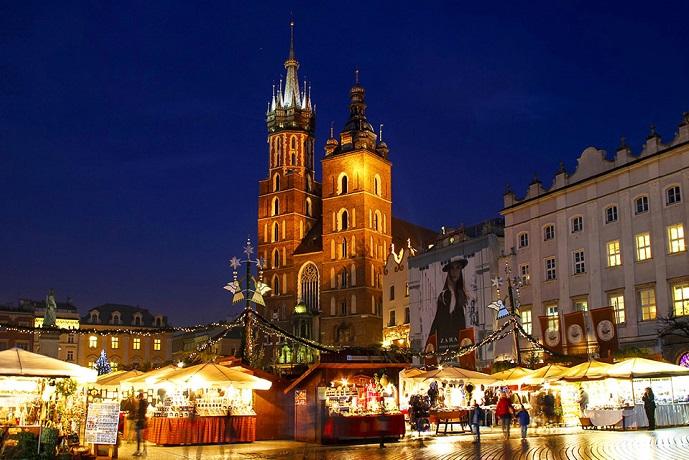 Najpiękniejsze jarmarki świąteczne - Kraków