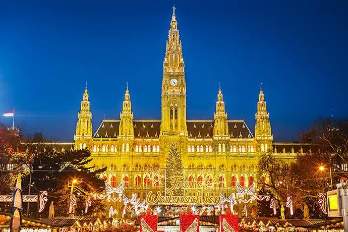 Najpiękniejsze jarmarki świąteczne - Wiedeń