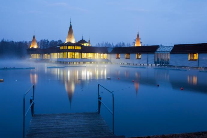 Największe atrakcje Węgier - Heviz