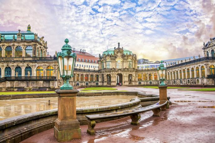 Najpiękniejsze pałace w Europie - Pałac Zwinger