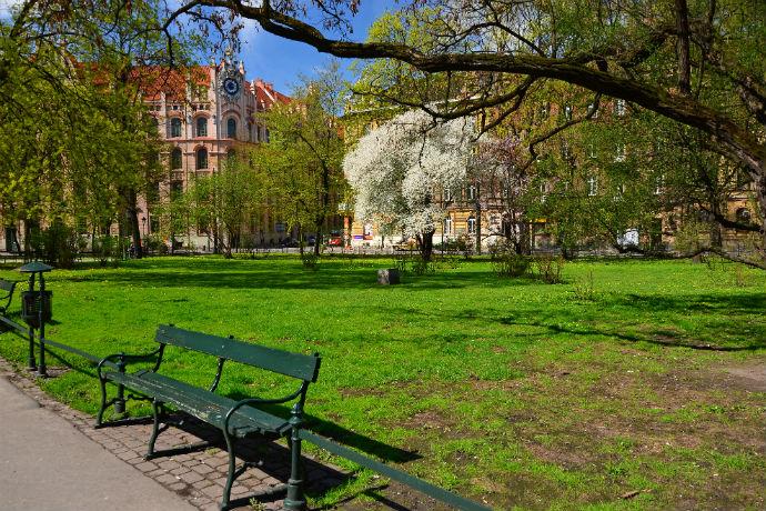 Najlepsze parki w Polsce - Planty w Krakowie