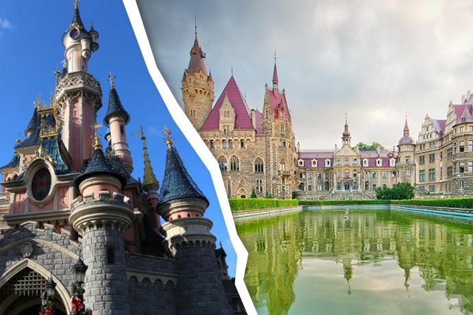 Dookoła świata w weekend - Pałac w Mosznie