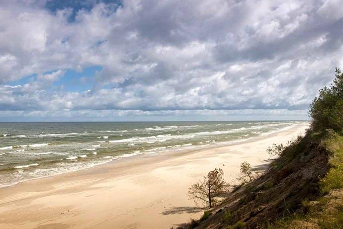 Najlepsze polskie plaże 2018 - Darłowo