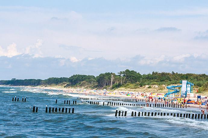 Ranking polskich plaż 2018 - Mielno