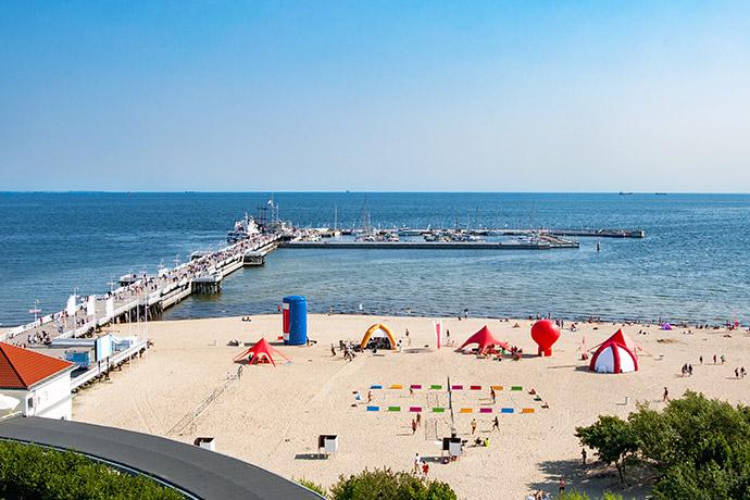 Ranking polskich plaż 2018 - Sopot