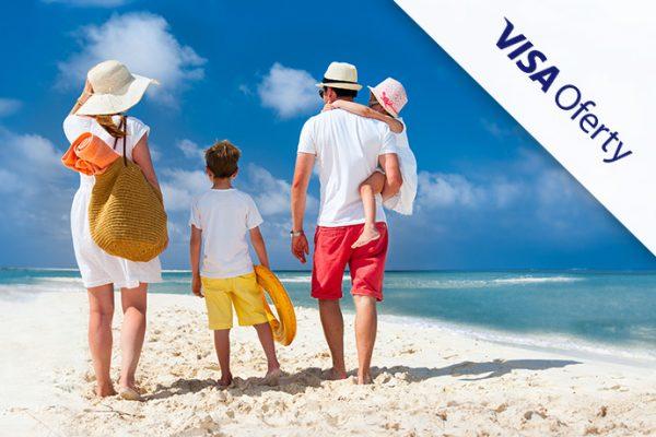 Nowość na Travelist: zapłać za wakacje kartą Visa i zyskaj zwrot części pieniędzy w ramach programu Visa Oferty!