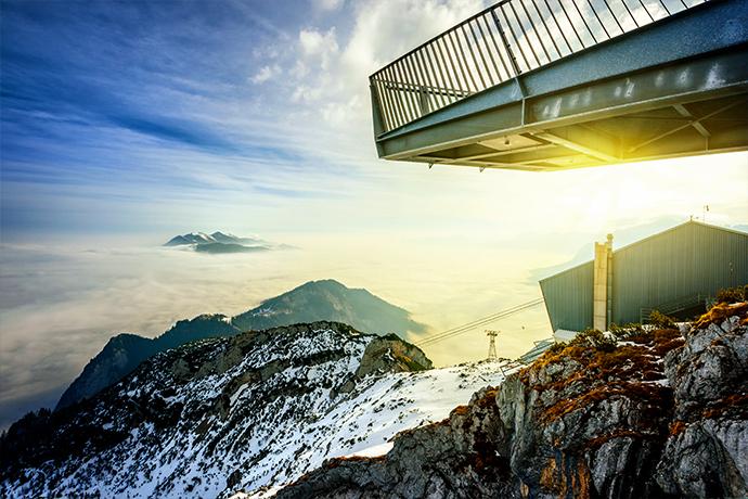 Spacery w chmurach - AlpspiX