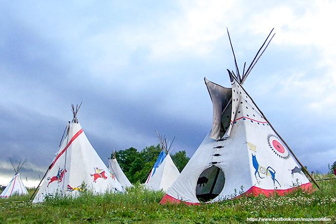 Najciekawsze miejsce na Mazurach - Muzeum Indian w Spytkowie