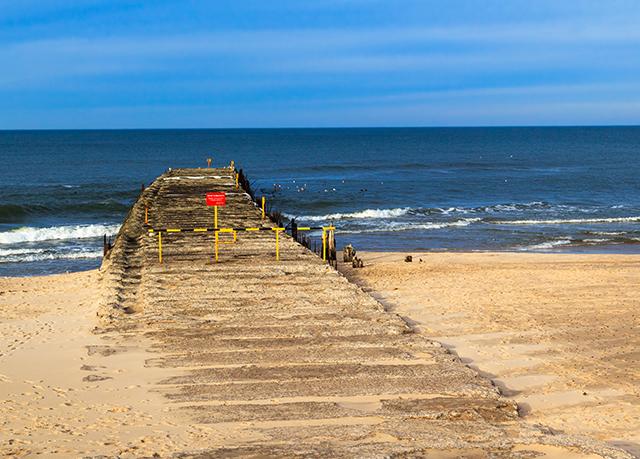 Polskie plaże bez tłoku - Lędowo