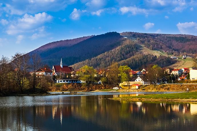 Górskie jeziora - Jezioro Międzybrodzkie