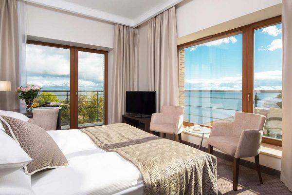 Luksusowe hotele w widokiem na morze