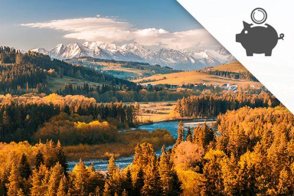 Zakopane dla dwojga – jak wybrać kredyt na jesienny wyjazd?