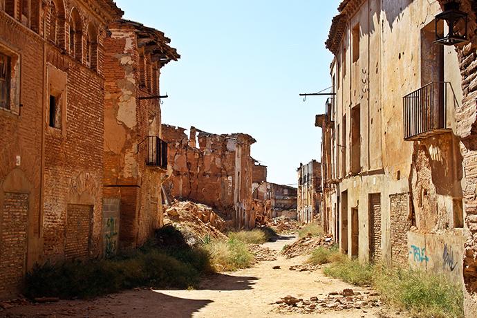 Miasto-widmo - Belchite