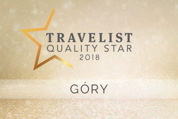 Travelist Quality Star 2018: Najlepsze hotele w górach