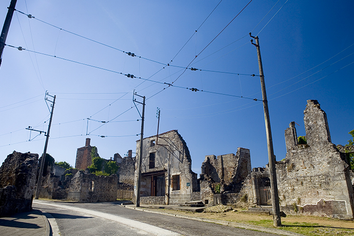Miasto-widmo - Oradour-sur-Glane