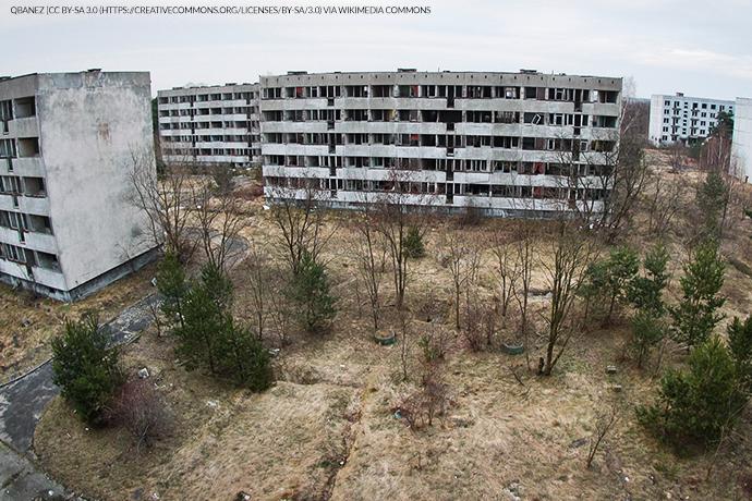 Miasto-widmo - Pstrąże