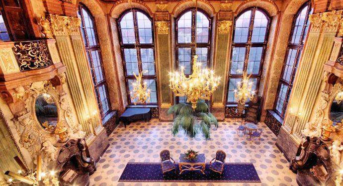 hotel zamkowy zamek ksiaz