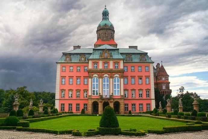 zamki w polsce zamek ksiaz