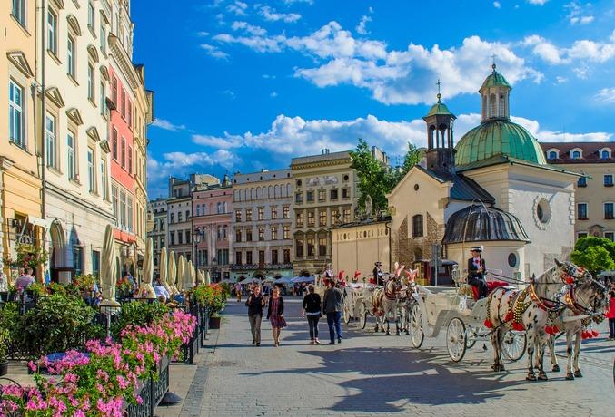 czterogwiazdkowe hotele w krakowie