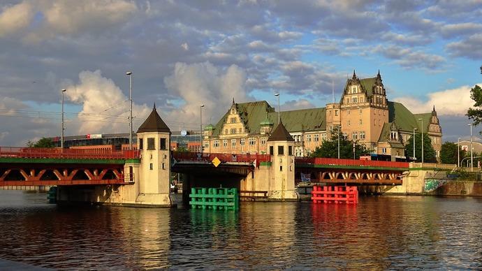 szczecin most architektura