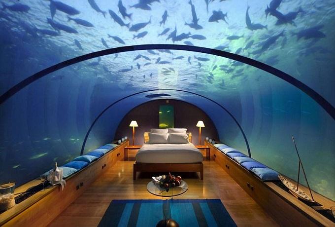 Najdziwniejsze hotele na świecie - Jules Underwater Lodge, Floryda, Stany Zjednoczone