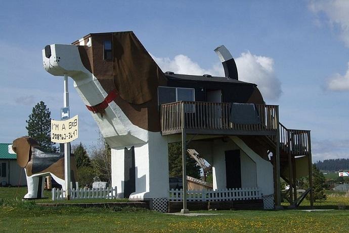 Najdziwniejsze hotele na świecie - Dog Bark Park Inn, Idaho, Stany Zjednoczone