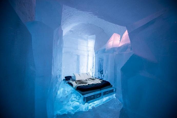 Najdziwniejsze hotele na świecie - Icehotel, Szwecja