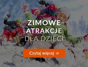 Zimowe atrakcje dla dzieci - artykuł