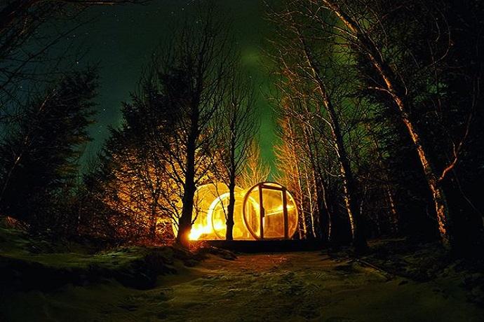 Najdziwniejsze hotele na świecie - The 5 Million Star Hotel, Islandia
