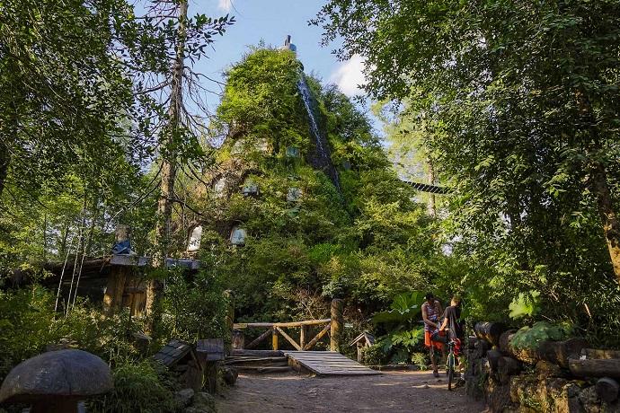 Najdziwniejsze hotele na świecie -Montana Magica, Chile
