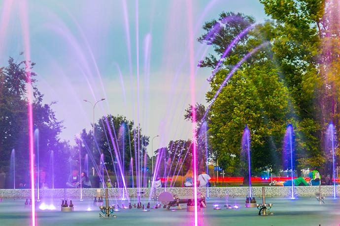 Niezwykłe atrakcje wodne w Polsce - Park Fontann, Warszawa