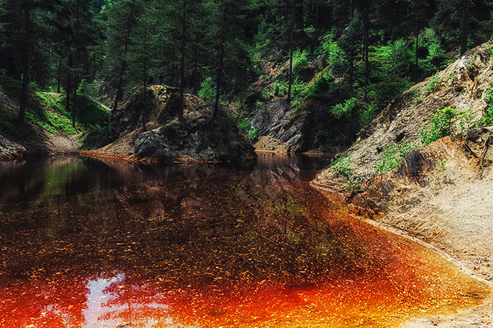 Niezwykłe atrakcje wodne w Polsce - Rudawy Janowickie, Sudety