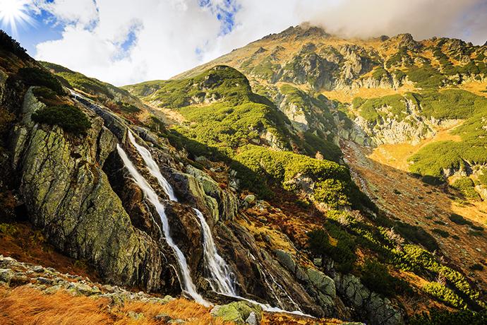 Niezwykłe atrakcje wodne w Polsce - Wielka Siklawa, Tatry