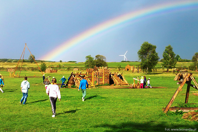 Najlepsze parki rozrywki w Polsce - Leonardia w Darłowie