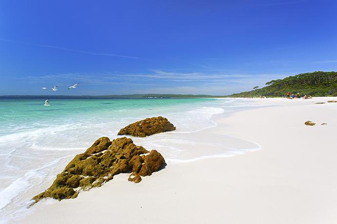 Turystyczne rekordy Guinessa - najbardziej biały piasek