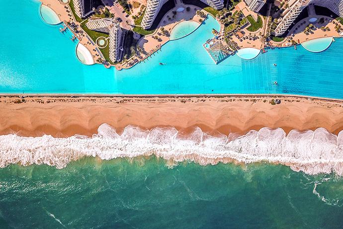 Turystyczne rekordy Guinessa - największy basen