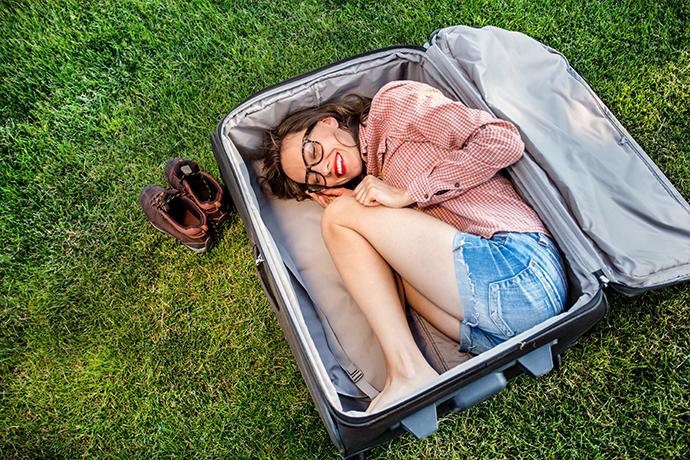 Turystyczne rekordy Guinessa - rekord w pakowaniu się do walizki