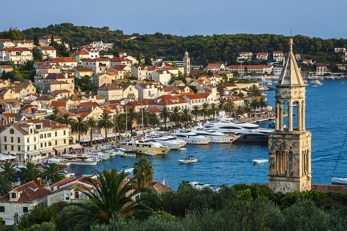 Najpiękniesze wyspy w Chorwacji - Hvar