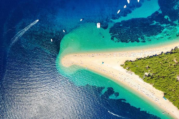 Najpiękniejsze wyspy Chorwacji - Brac