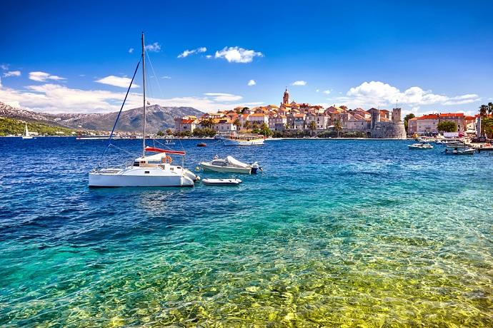 Najpiękniejsze wyspy Chorwacji - Korcula