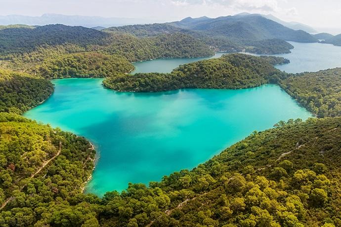 Najpiękniejsze wyspy Chorwacji - Mlejt