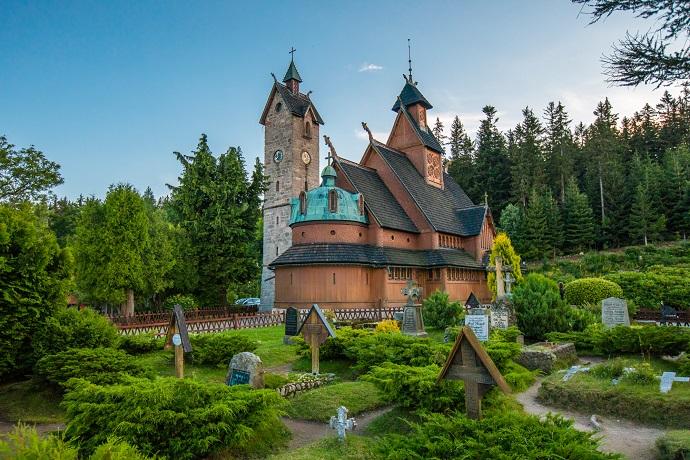 Poznaj Polske z Travelist: Karkonosze - Świątynia Wang