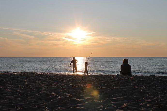 Polskie plaże bez tłoku - Rusinowo